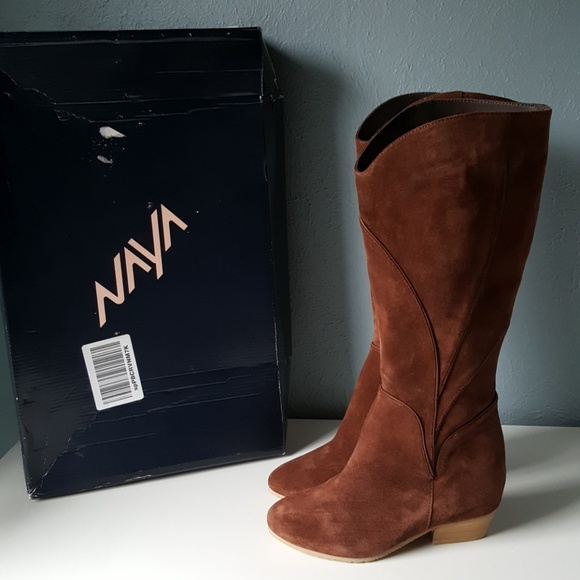 002767317e6 NEW Anthropologie Naya Fjord Hidden Wedge Boots